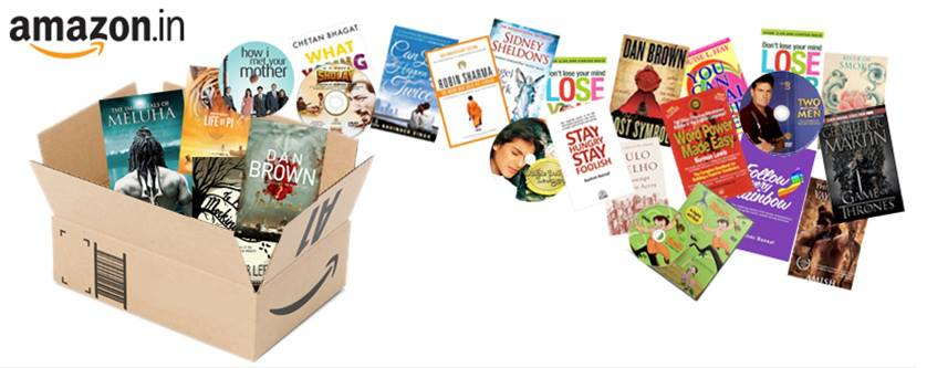 Amazon India Launches with Books and Movies.